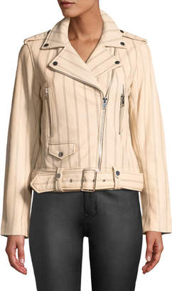 Derek Lam 10 Crosby Leather Moto Jacket Sast Sale Online Cheap Newest Clearance Cheap Low Price Fee Shipping Online xgMc2r