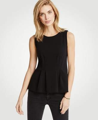 Ann Taylor Sleeveless Peplum Top