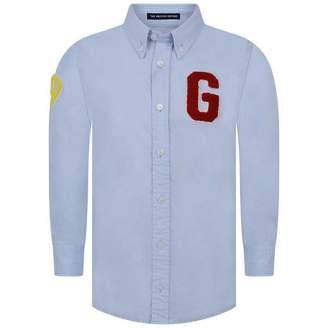 Gant GantBoys Blue Archive Oxford Badge Shirt