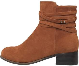 Feud Womens Ankle Boots Tan