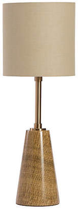 Interlude Beck Marble Table Lamp - Coffee/Brass