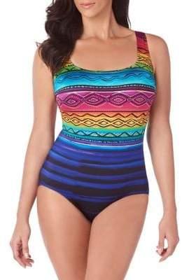 Longitude Siesta Key X-Back One-Piece Swimsuit