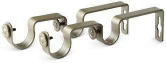 "Rod Desyne Pair of 1"" Double Wall Brackets"