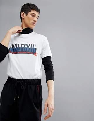 Jack Wolfskin Slogan T-Shirt In White