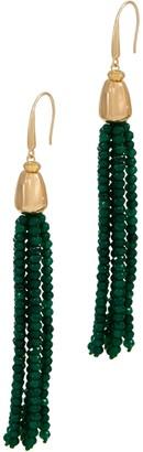 Lola Rose Zoelle Gemstone Tassel Earrings