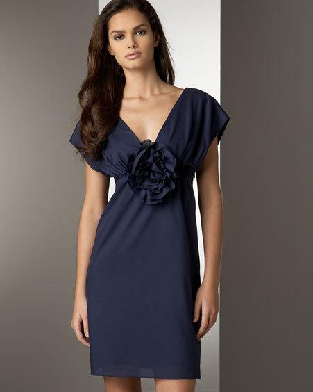 Loeffler Randall Rosette Dress
