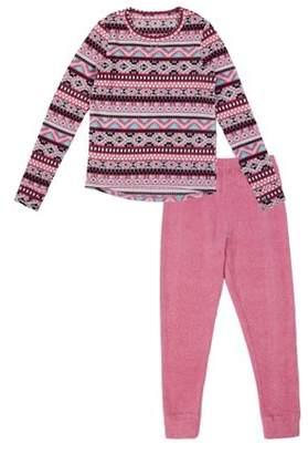 Cuddl Duds Girl's Stretch Fleece Warm Layering Long Underwear (Little Girls & Big Girls)