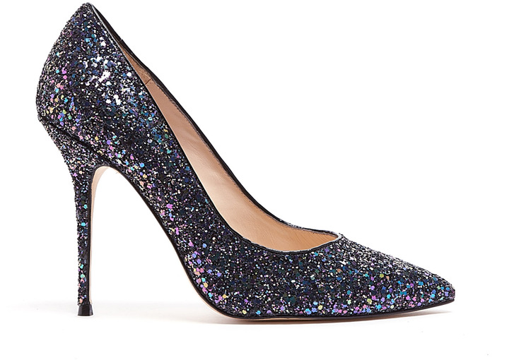 Lucy Choi London Adelite Glitter High Heel Shoes