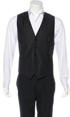 Dolce & Gabbana Virgin Wool & Silk Suit Vest