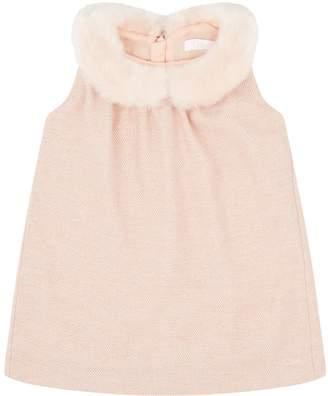 Chloé Fur Collar Dress
