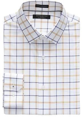 Banana Republic Camden Standard-Fit Non-Iron Plaid Shirt