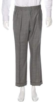 Rare Editions Oxxford Clothes Windowpane Pants