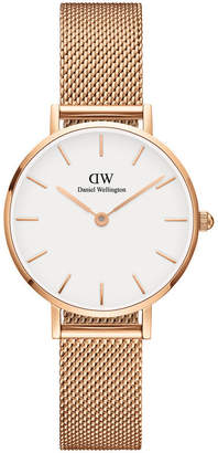 Daniel Wellington DW00100219 Petite 28mm Melrose White Dial Rose Watch