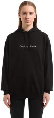 Everything Will Be Ok Cotton Sweatshirt