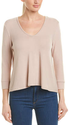 Three Dots Brushed Sweater
