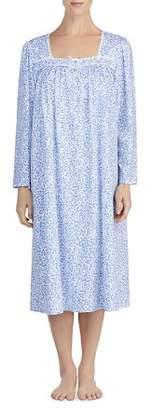 Eileen West Long-Sleeve Cotton Ballet Nightgown