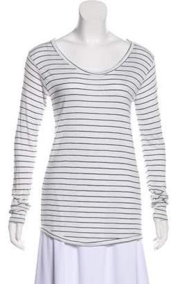 Anine Bing Linen Striped Top
