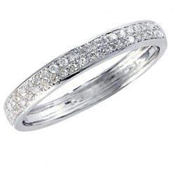 Effy 14K White Gold 0.19ct Diamond Ring