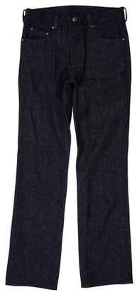 Chrome Hearts Sterling Silver-Accented Straight-Leg Jeans