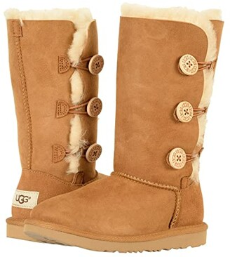 UGG Bailey Button Triplet II (Little Kid/Big Kid)