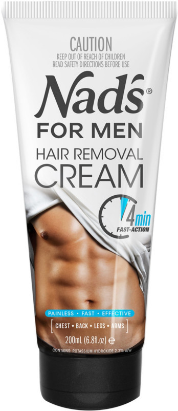 Nads Natural Online Only Hair Removal Cream for Men