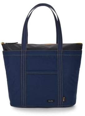 Steven Alan Grid Zippered Tote