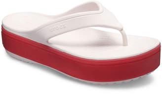 5e15a1a29488 Crocs Unisex Adult Crocband Platform Flip-Flops