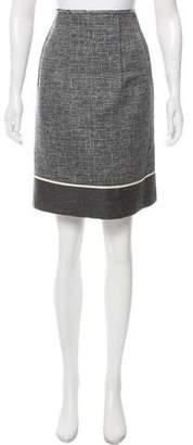 Marni Metallic Tweed Skirt