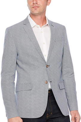 Jf J.Ferrar Slim Fit Diamond Sport Coat - Slim