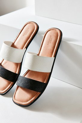 Urban Outfitters Multi-Strap Slide $39 thestylecure.com
