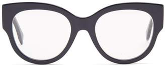 Fendi Cat-eye tortoiseshell acetate glasses