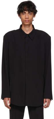 Balenciaga Black Fluid Tailored Jacket
