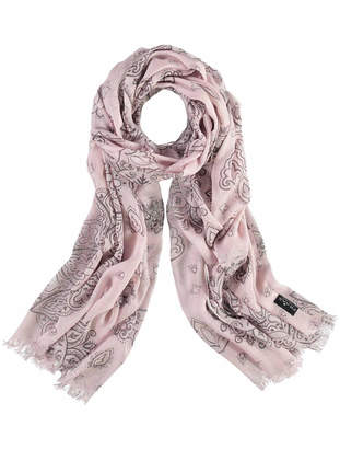 Fraas Metallic Patchwork Scarf