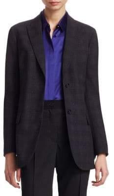 Akris Flecked Wool Jacket