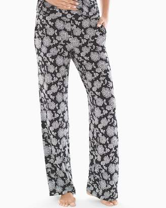 Cool Nights Pajama Pants Elegant Lace Black 6fe0865c3