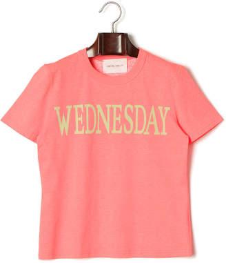 Alberta Ferretti (アルベルタ フェレッティ) - STRASBURGO ALBERTA FERRETTI Rainbow 半袖Tシャツ&カシミヤ混 ソックス レッド f