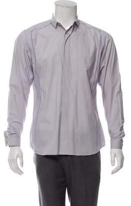Christian Dior Raw-Edge Button-Up Shirt