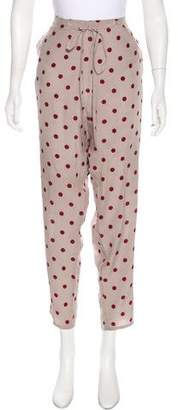 Kenzo High-Rise Polka Dot Pants