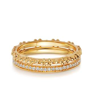 Astley Clarke All That Glistens Ring Stack