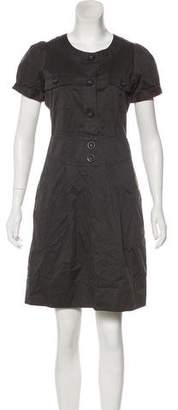 Marc by Marc Jacobs Short Sleeve Knee-Length Dress