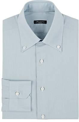 Sartorio Men's Pinstriped Cotton Button-Down Dress Shirt