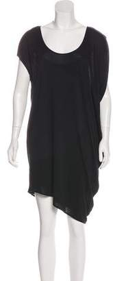 Helmut Lang Tonal Mini Dress