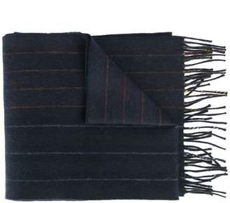 Loewe fringed logo scarf