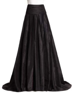 Carolina Herrera Icon Collection Silk Cummerbund Ball Gown Skirt