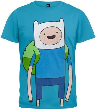 Finn Changes Adventure Time Large T-Shirt | XL