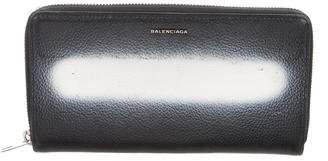 Balenciaga Long Leather Wallet