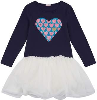 Billieblush Sequin Heart Tutu Dress
