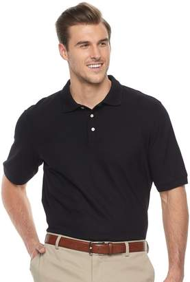 Croft & Barrow Big & Tall Classic-Fit Easy-Care Performance Pique Polo