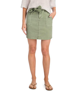 Vineyard Vines Utility Tie Waist Skirt