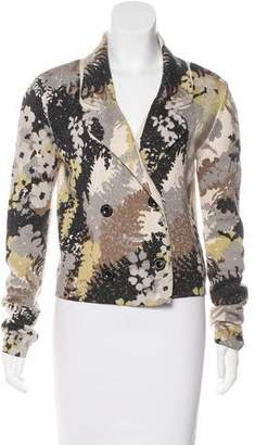 Chris Benz Long Sleeve Knit Cardigan